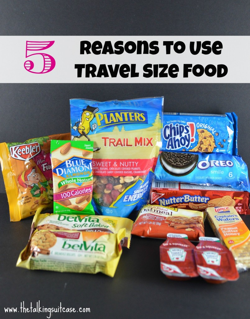 Use Travel Size Food