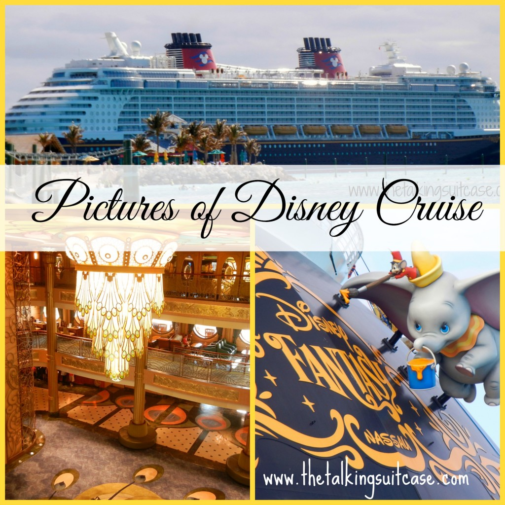 Pictures of Disney Cruise Collage