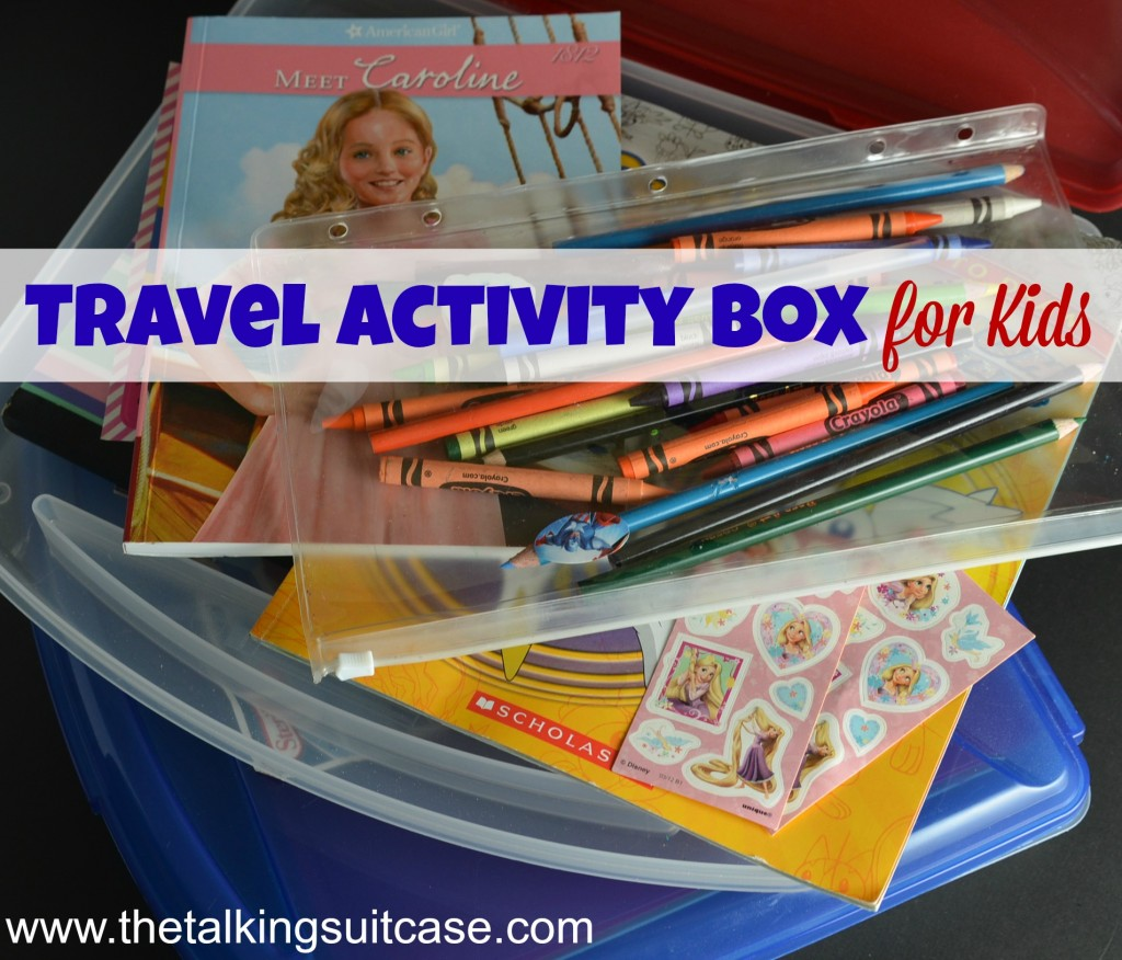 Travel Activity Box for Kids