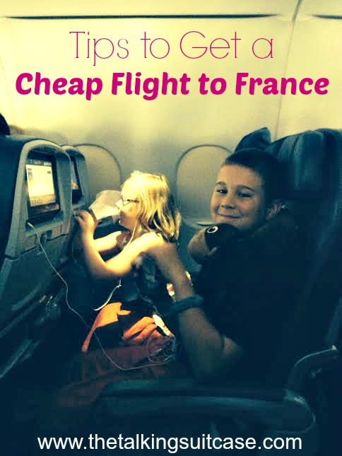 cheap flight to france